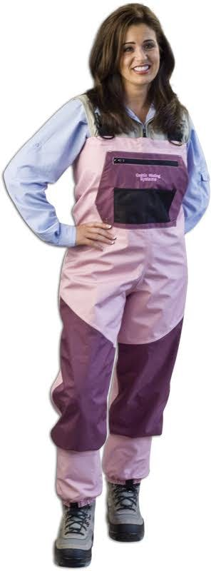 Caddis Women's Deluxe Breathable Waders - Pink L
