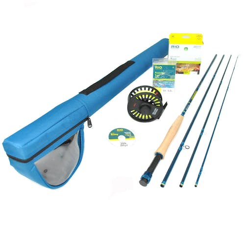 """Redington Crosswater II 890-4 Fly Rod Outfit (8wt, 9'0"""", 4pc)"""