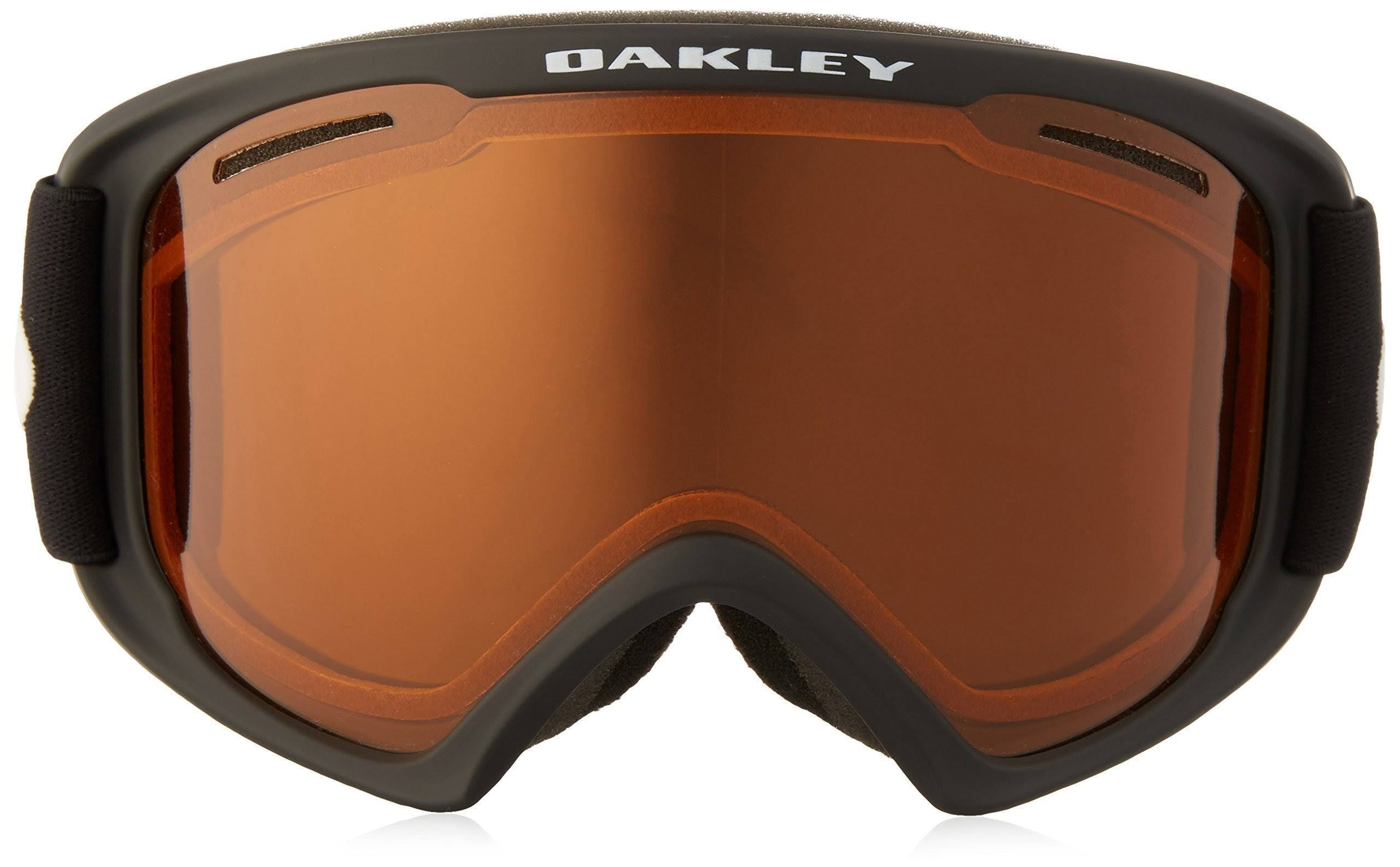 Oakley O2 XS Goggles Matte Black / Persimmon