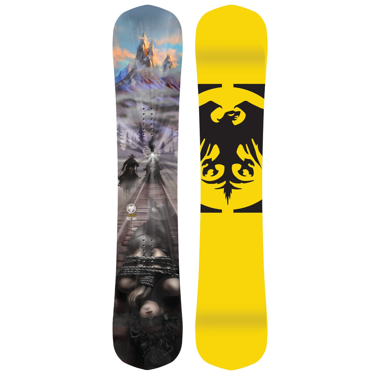 Never Summer Peacemaker  Snowboard · 2021