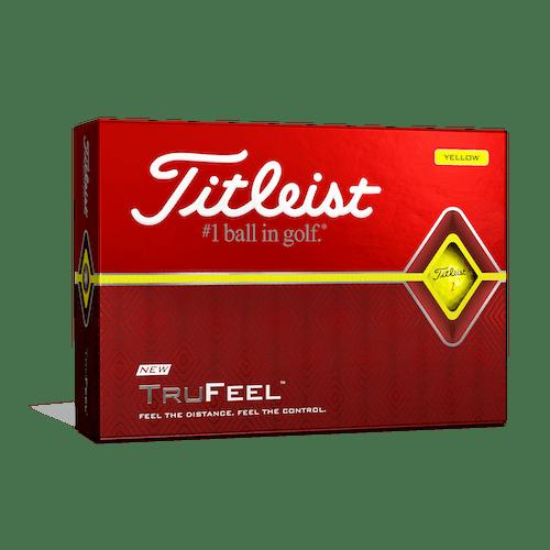 TruFeel Yellow Golf Balls - Personalized