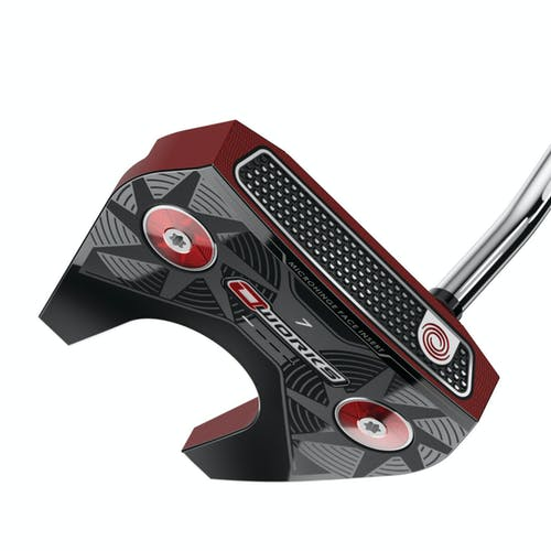 Odyssey O-Works #7 Red Putter w/ SuperStroke Grip