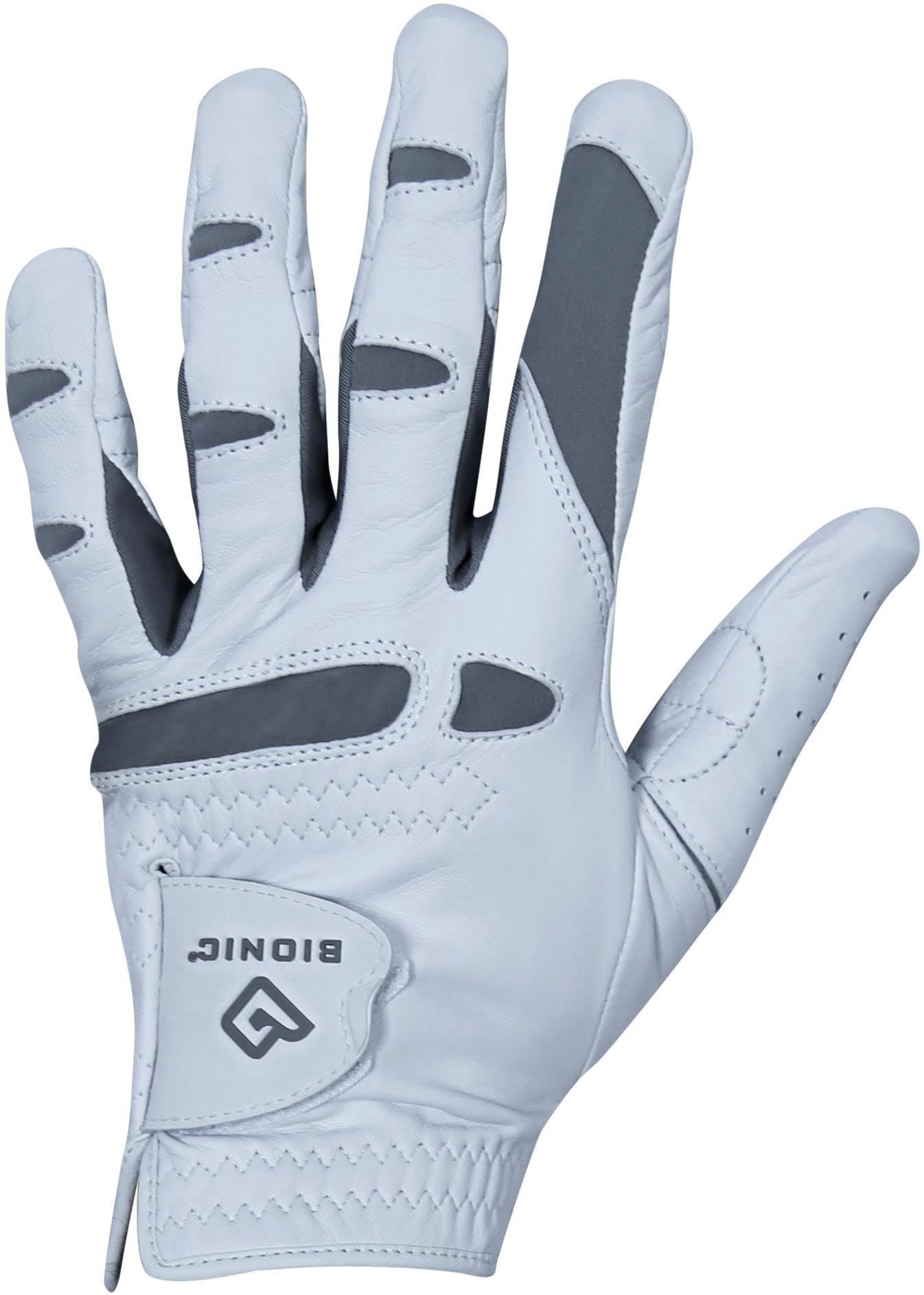 Bionic Men's PerformanceGrip Pro Left Hand White Golf Glove