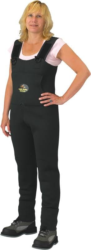 Caddis Women's 3.5mm Neoprene Waders - Dark Green L Queen