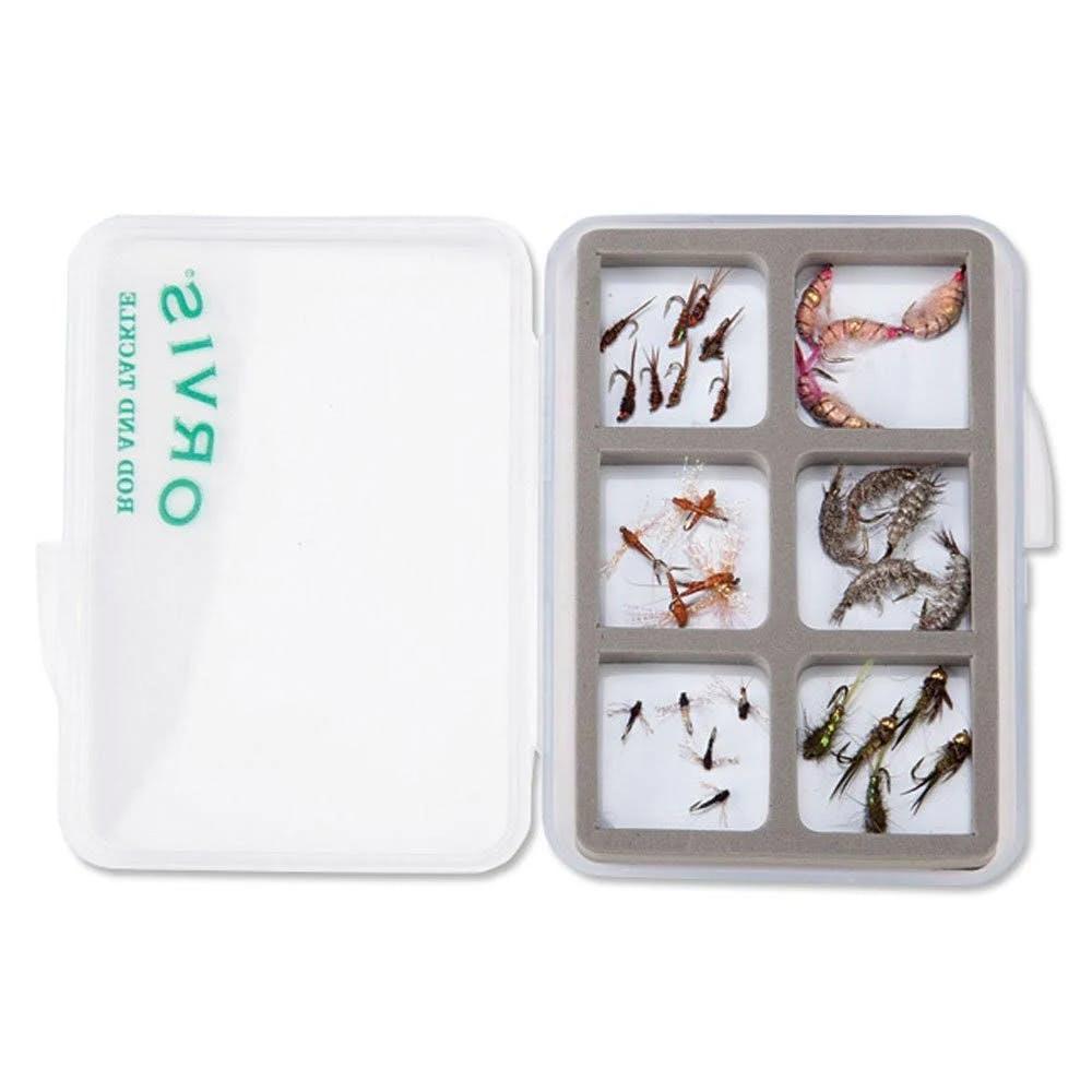 Orvis Super Slim Shirt Pocket 6-Compartment Fly Box