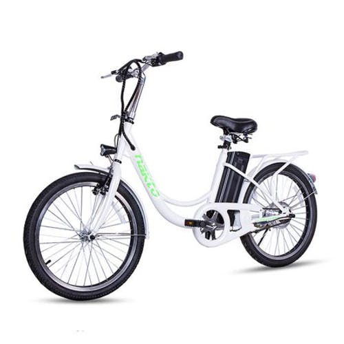 NAKTO ELEGANCE 250W 36V 8Ah City Electric Bike · 22 inch White