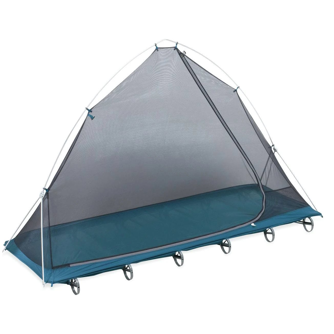 Therm-a-Rest LuxuryLite Cot Bug Shelter, Blue/Gray, Regular