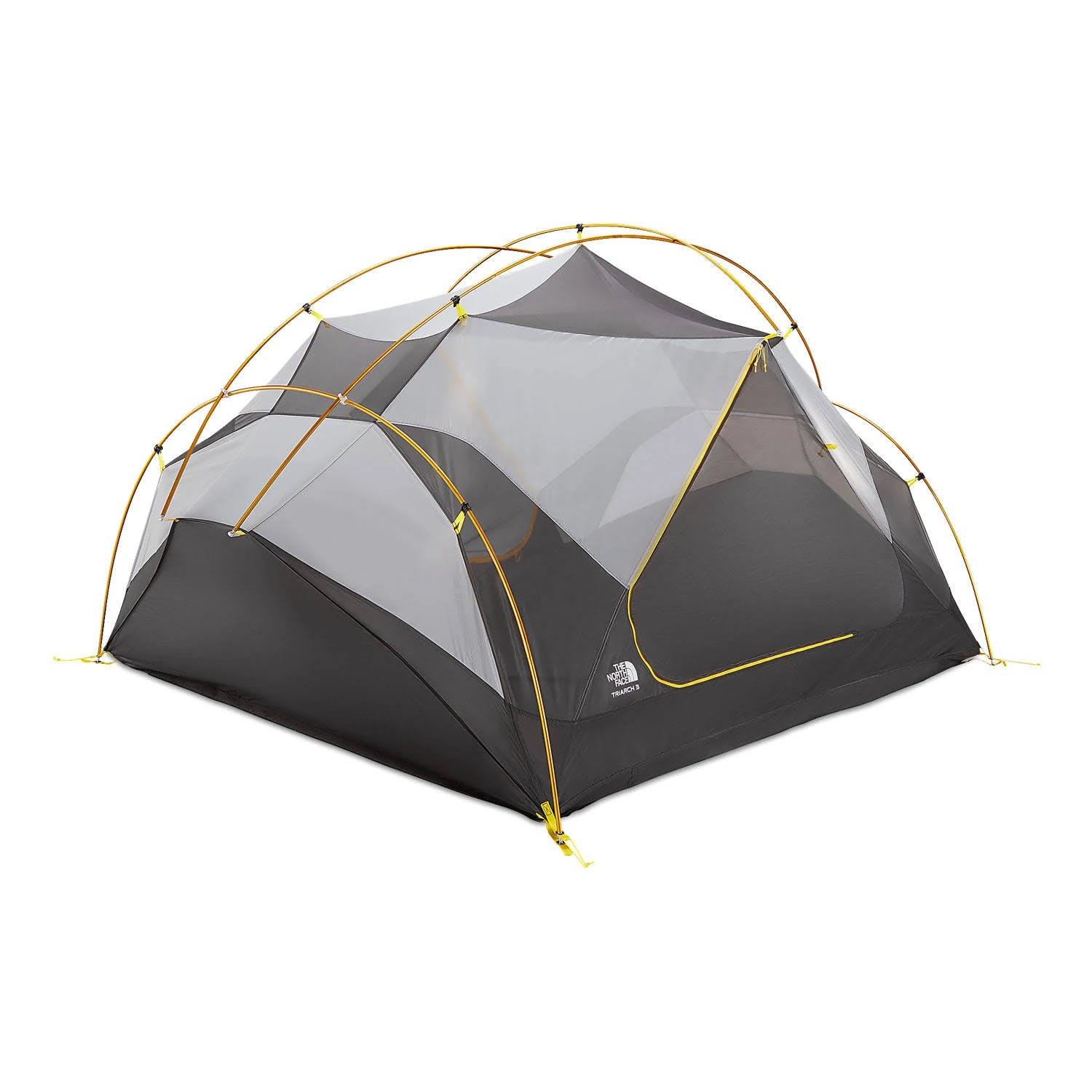 The North Face Triarch 3 Tent: Canary Yellow