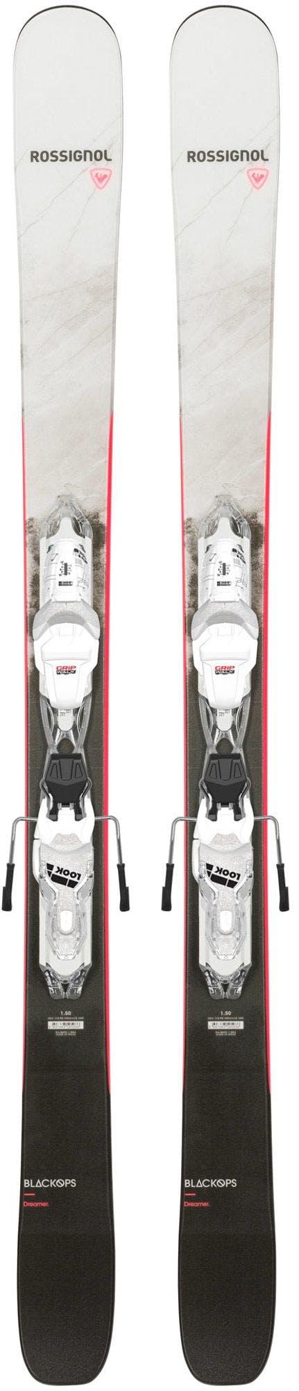 Rossignol Black Ops Dreamer Women's Skis + Xpress 10 Gw Bindings · 2021
