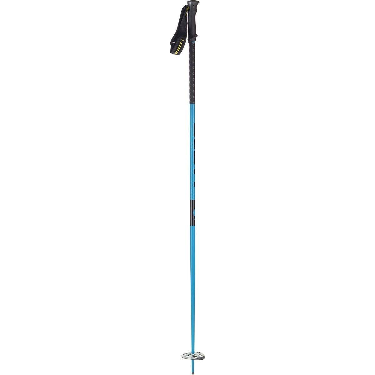 Scott Riot 18 Rubber Ski Poles Blue 125cm