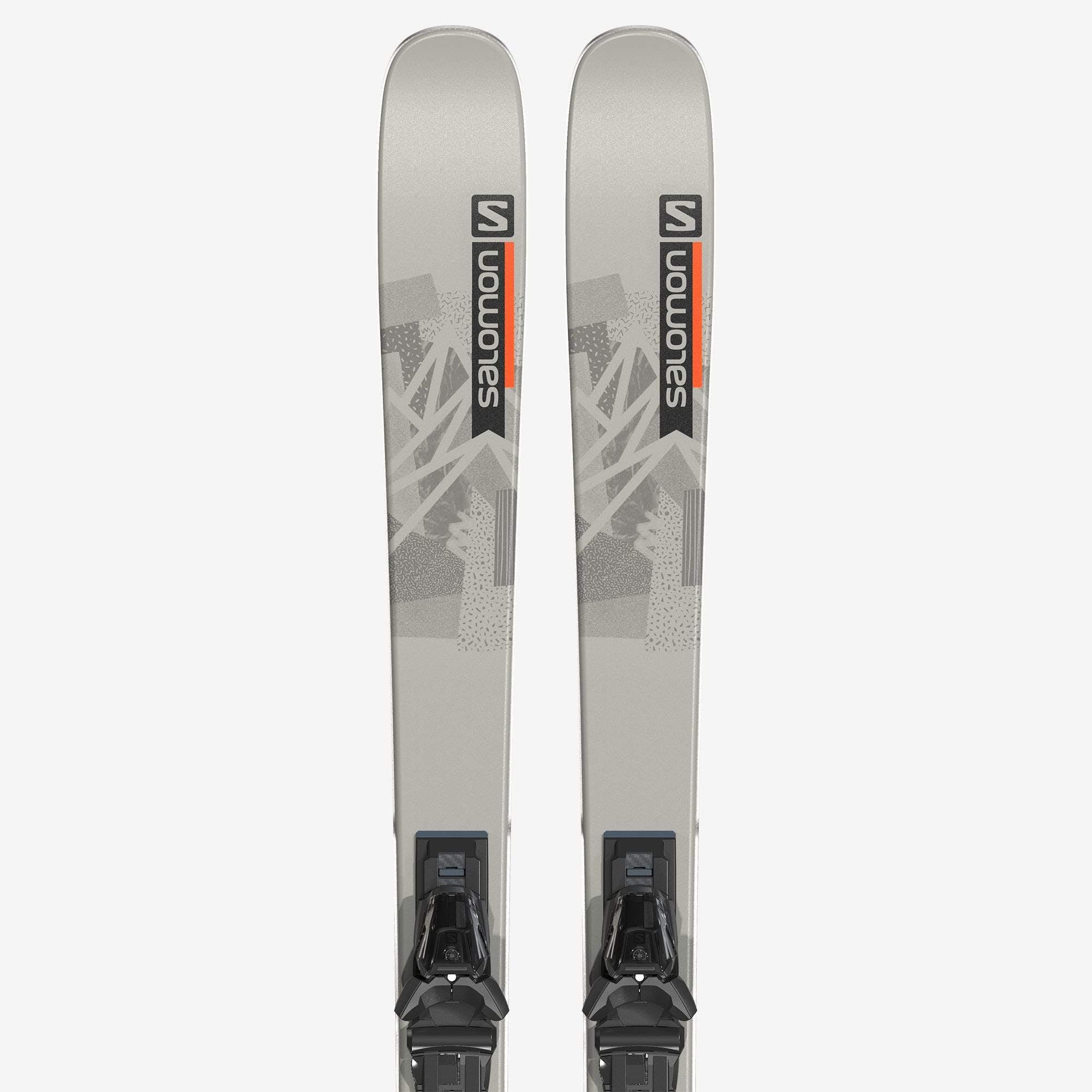 Salomon QST Spark Skis with M10 Gw Bindings · 2022