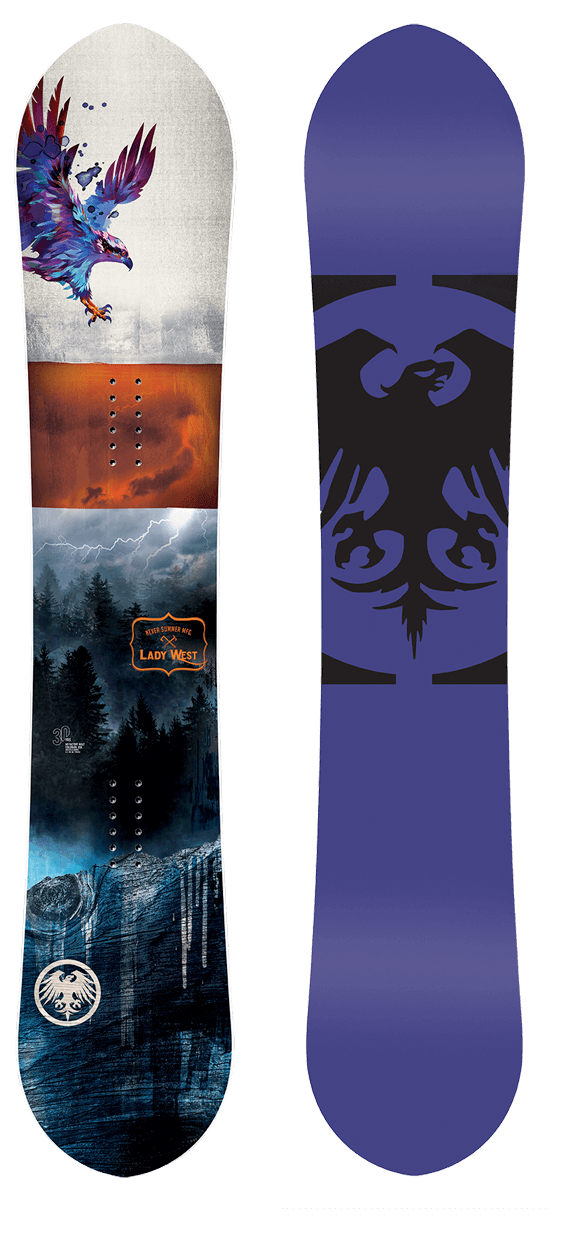 Never Summer Lady West Snowboard · 2021