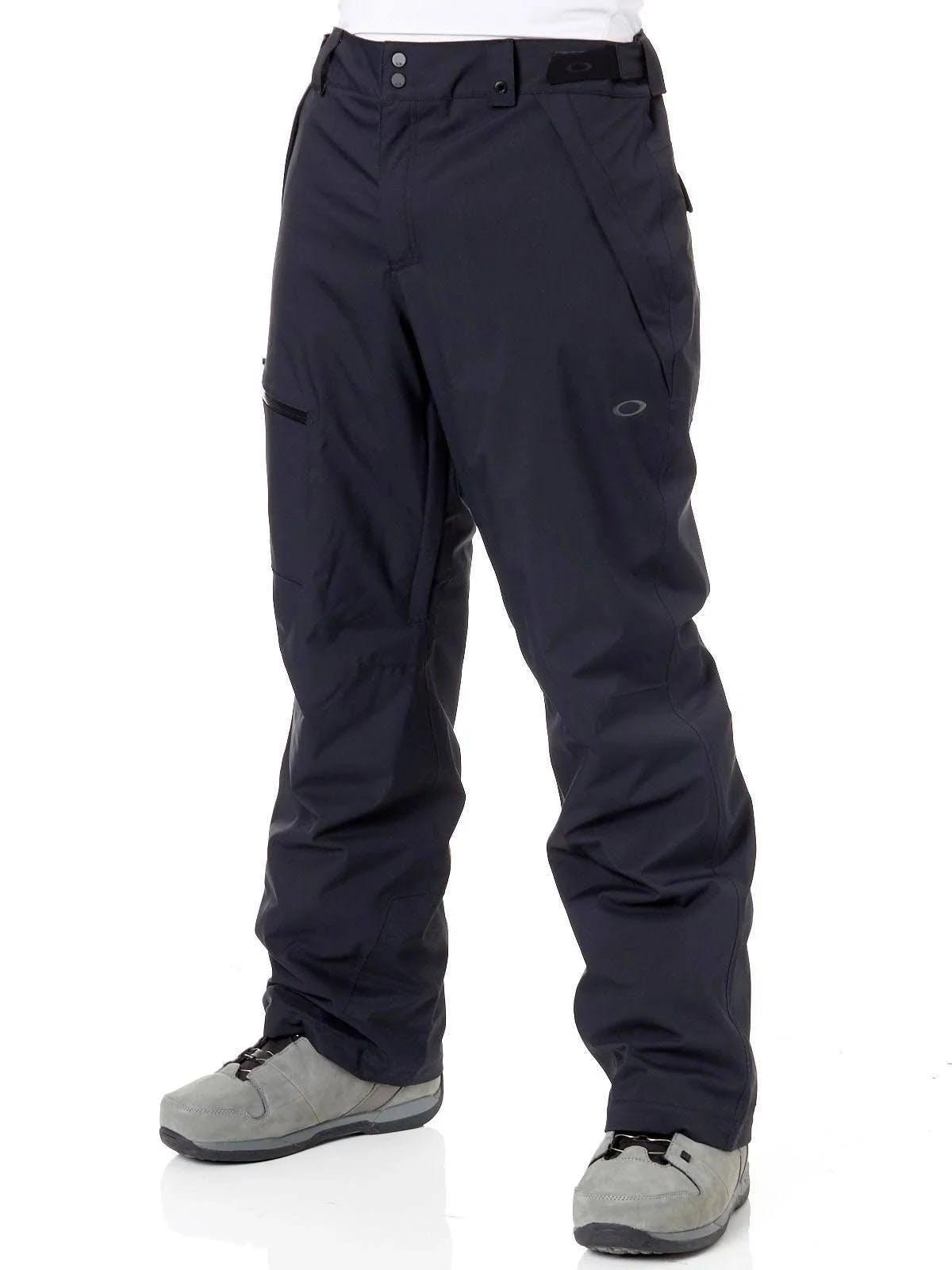 Oakley Men's Ski Insulated 10K/2L Pant Large Blackout
