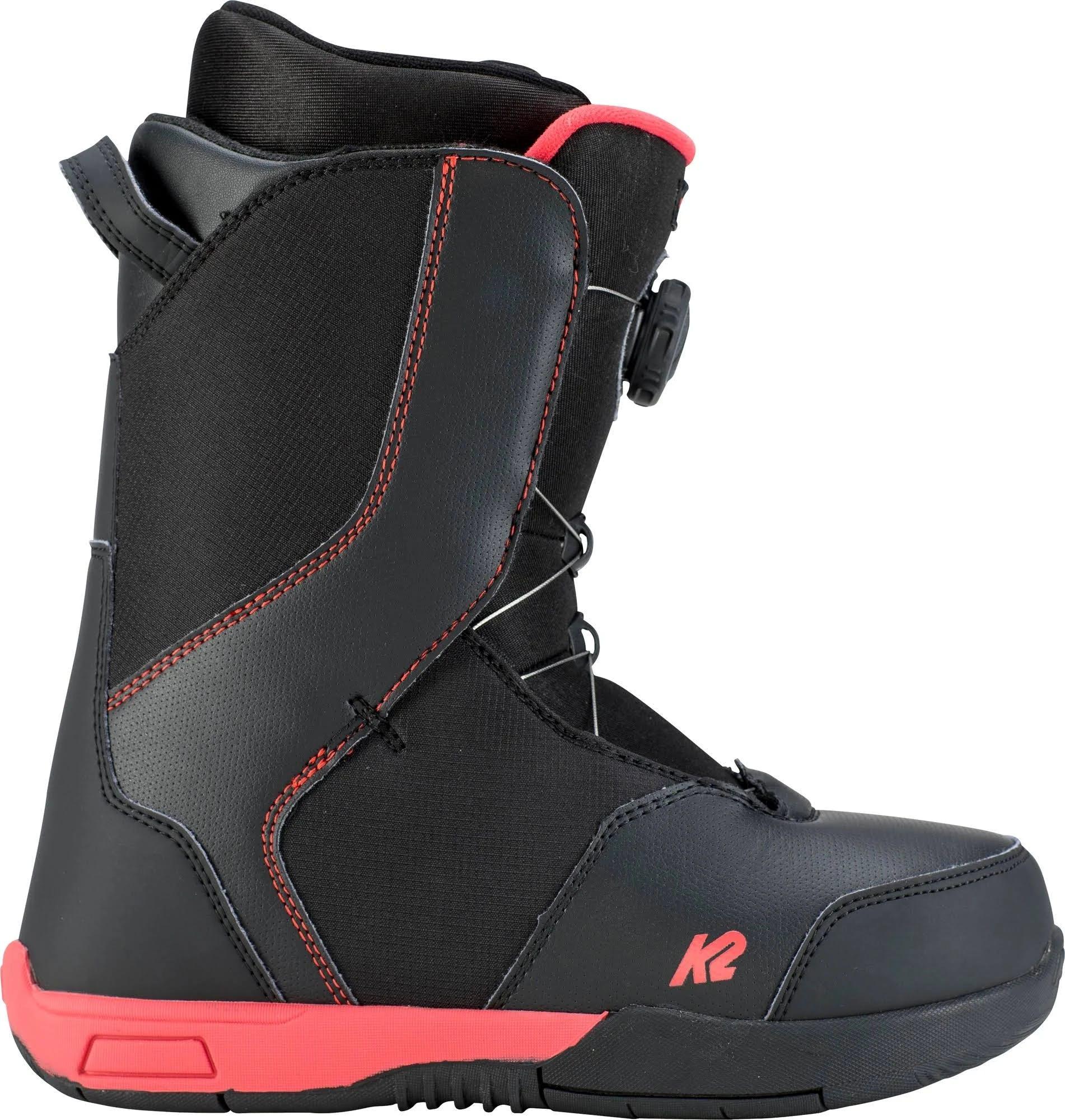 K2 Vandal Snowboard Boots Kids' Black 5