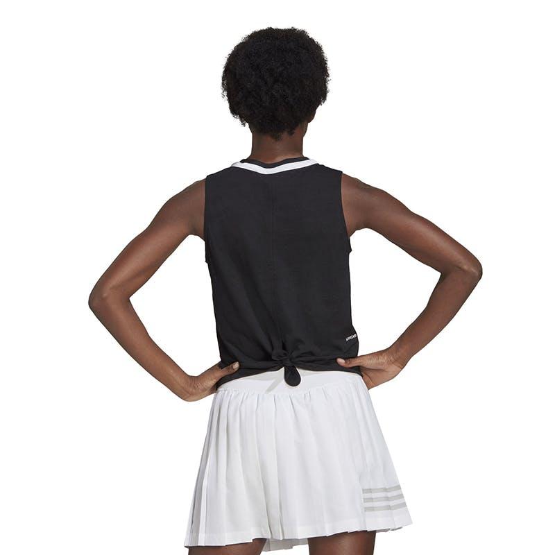 adidas Club Knot Tank (W) (Black)