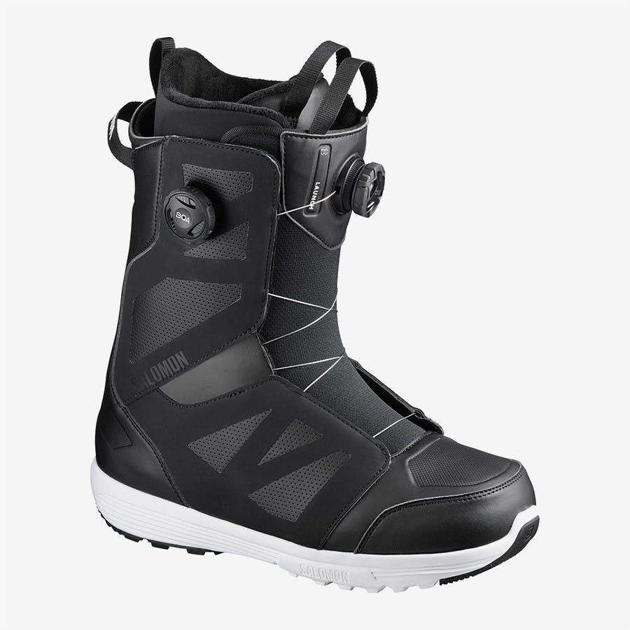Salomon Men's Launch BOA STR8JKT Snowboard Boots · 2020
