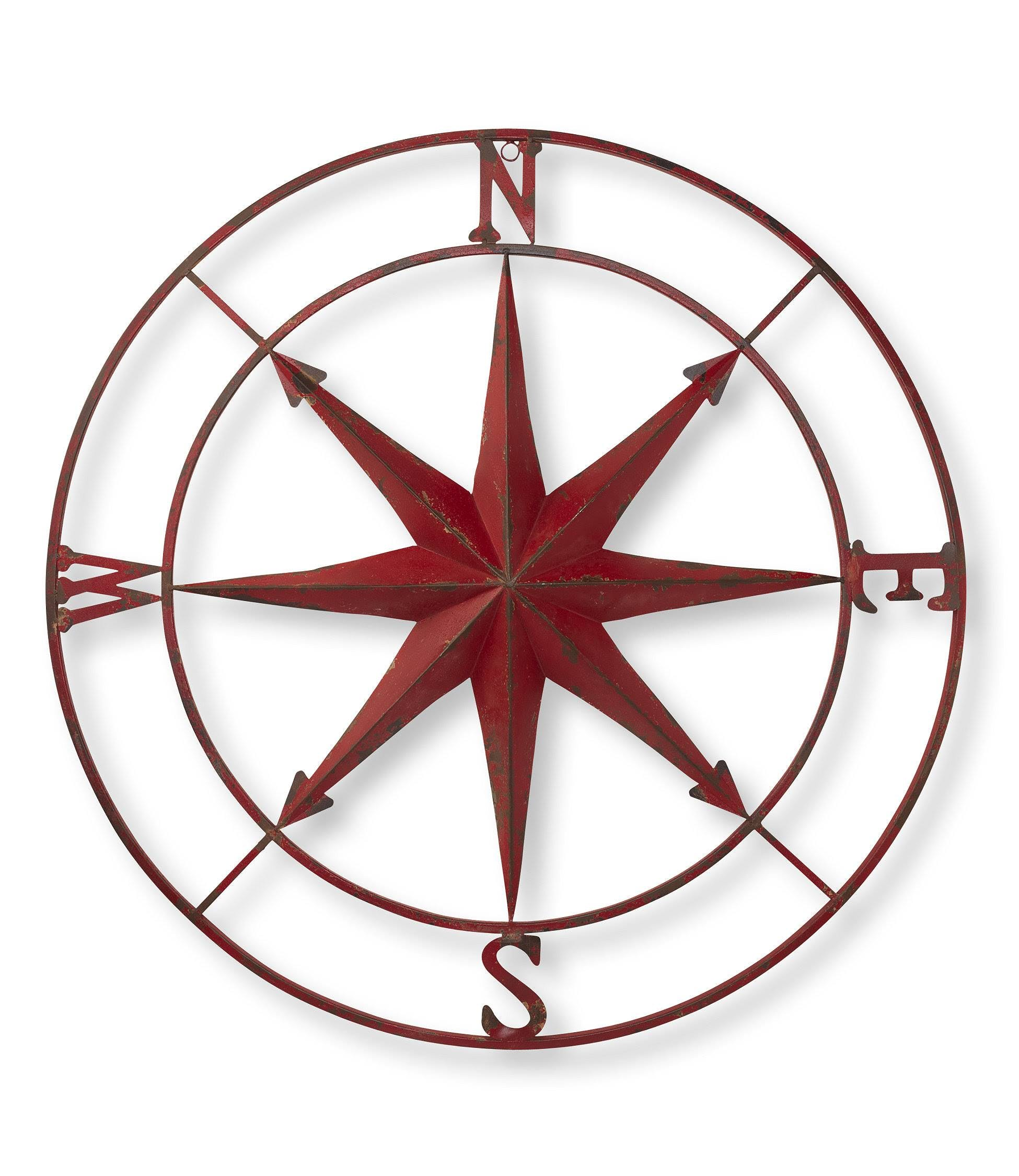 L.L.Bean Metal Compass Rose