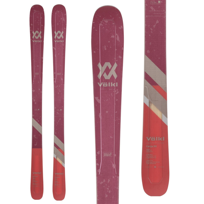 Völkl Women's Kenja 88 Flat Skis · 2021