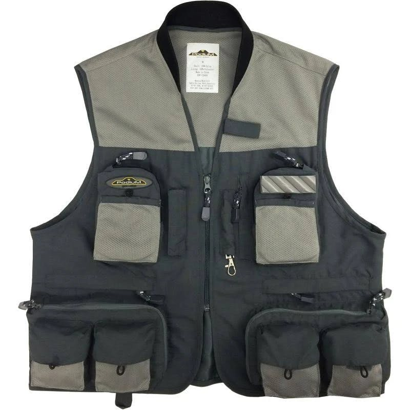 Rustic Ridge Men's Green River Fishing Vest - Grey XXL by Sportsman's Warehouse