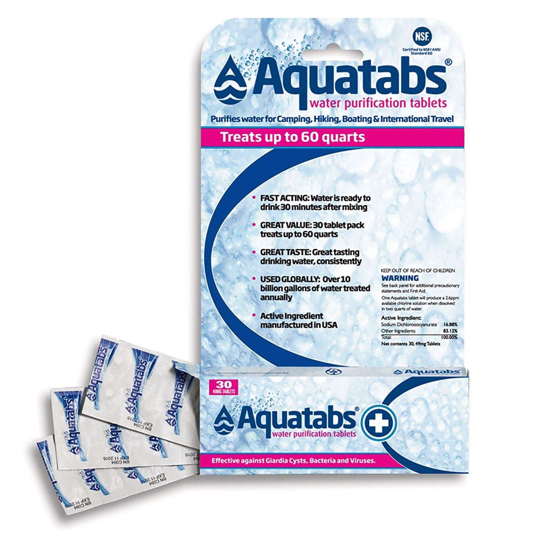 MSR - Aquatabs Water Tablets 30ct