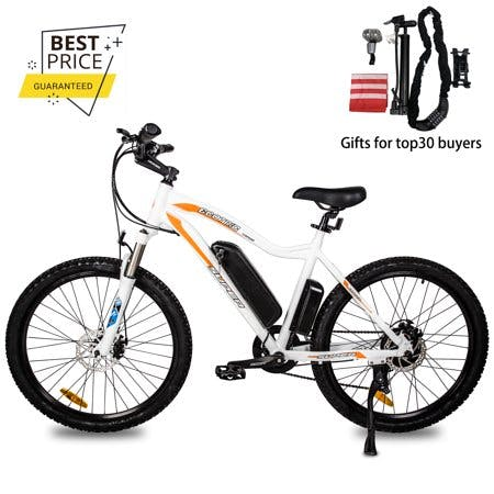 Ecotric 26 inch 36V 500W Electric Bicycle Mountain City E bike Removable Battery High Speed Integrative