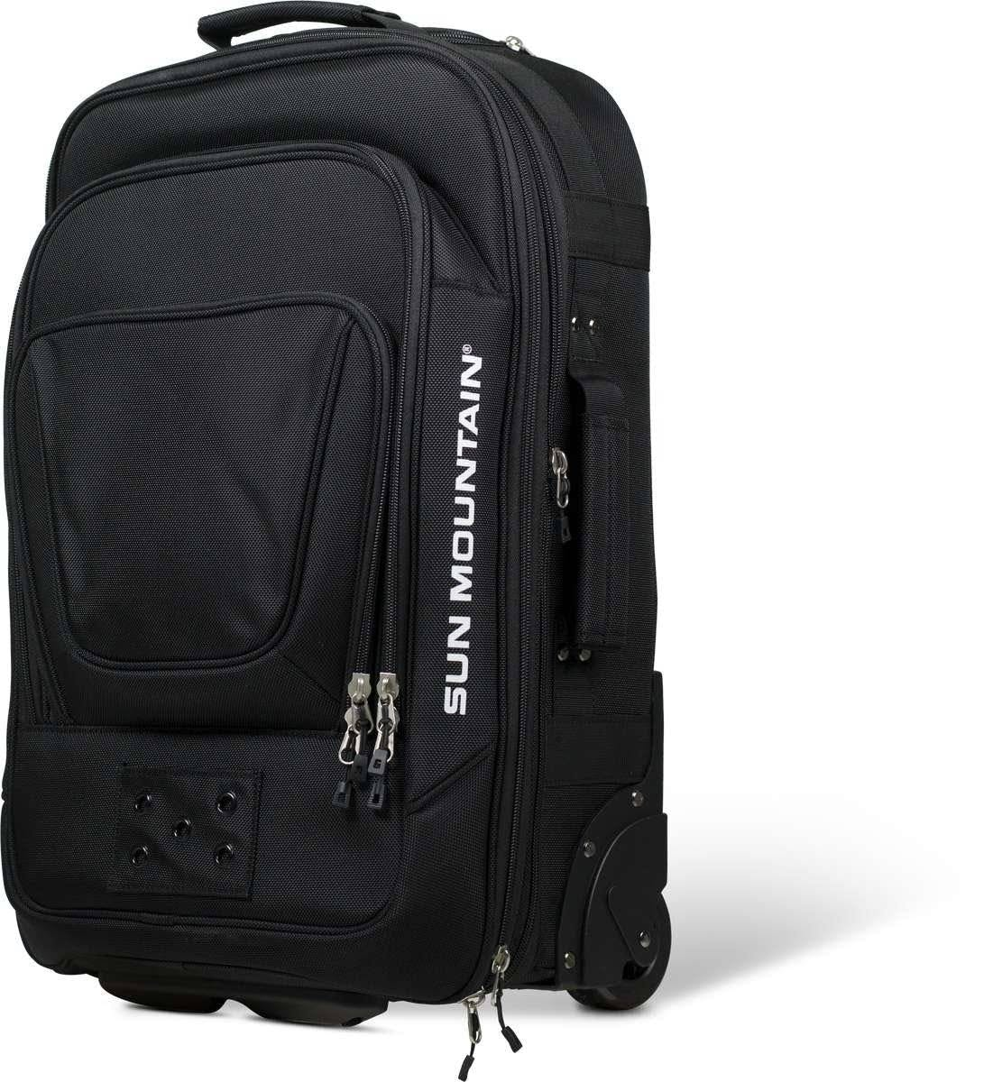 Sun Mountain Wheeled Carry on Luggage Black