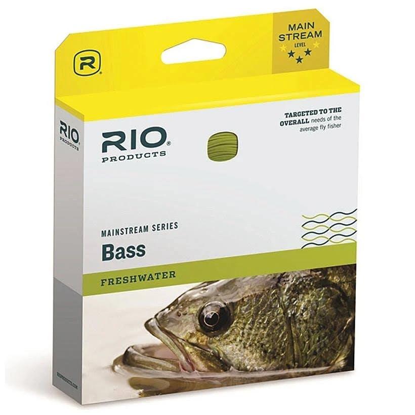 Rio Mainstream Bass Fly Line - WF6F