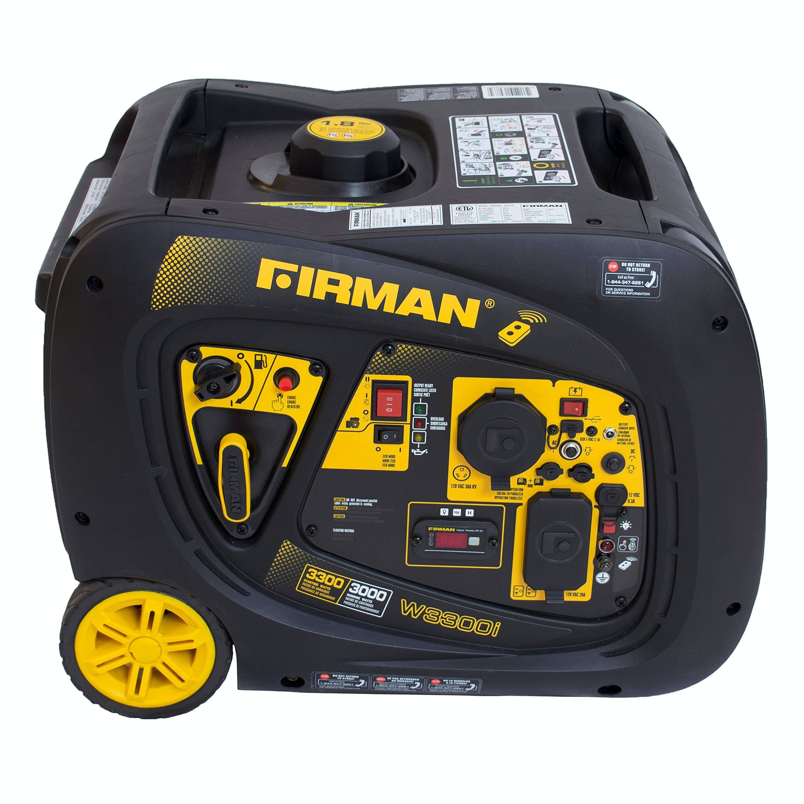 Firman 3000 Watt Inverter Generator with Remote Start W03083