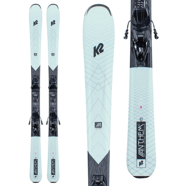 K2 Anthem 75 Skis + ERP 10 Quikclik Bindings · 2021