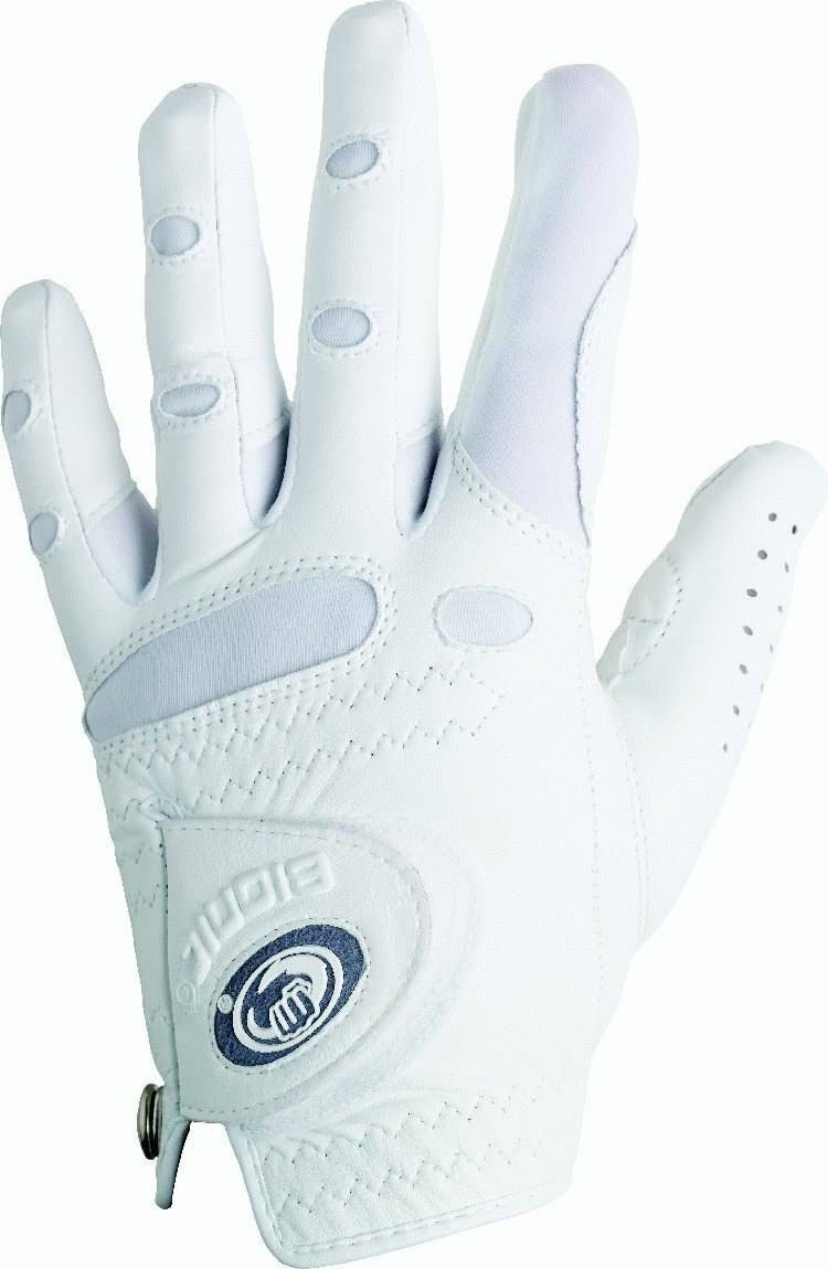 Bionic Women's Left Hand StableGrip Golf Glove - White