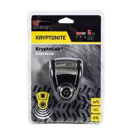 Kryptonite 004776 KryptoLok 6A Alarm Disc Lock 120 dB Alarm