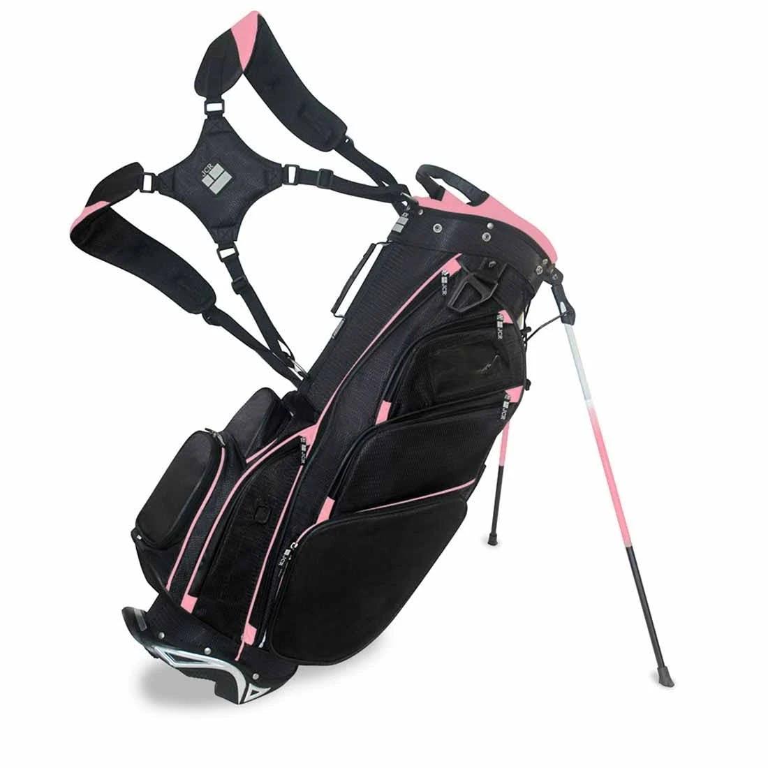 JCR DL550S Stand Bag Black/Pink