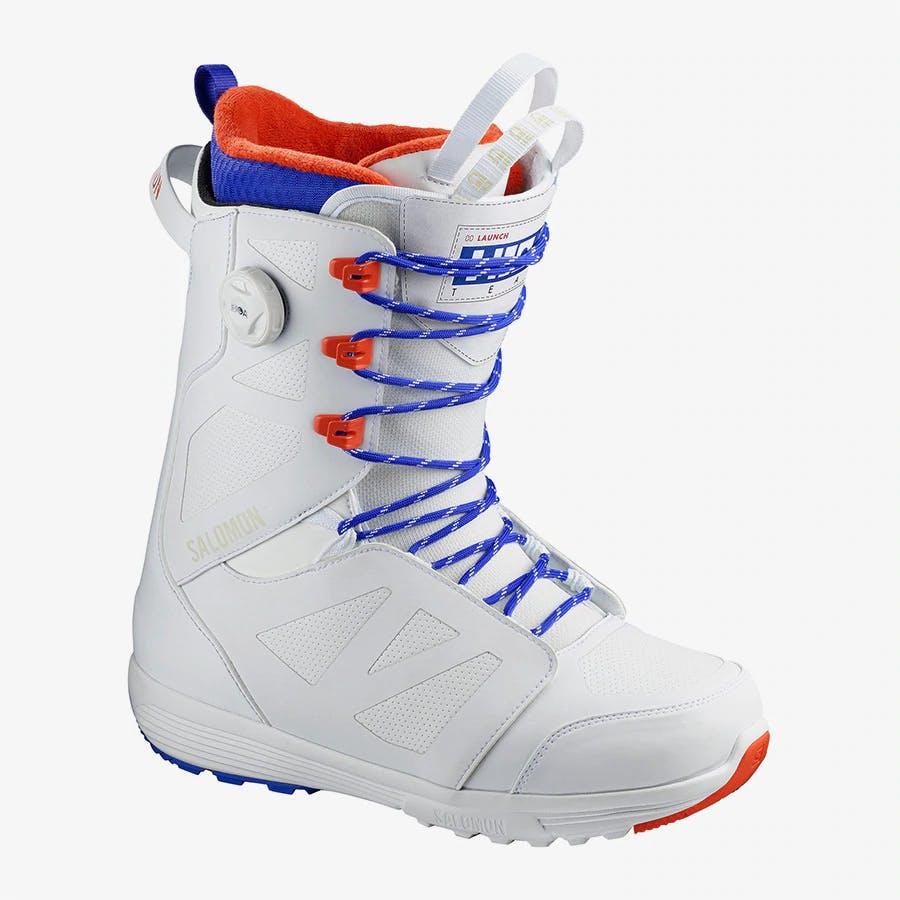 Salomon Men's Launch Lace STR8JKT Team Snowboard Boots · 2020