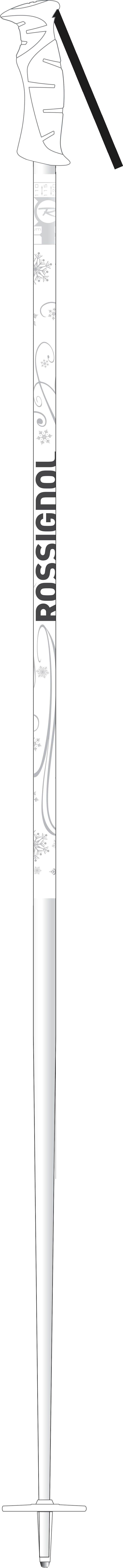 Rossignol Snow Flake Ski Poles