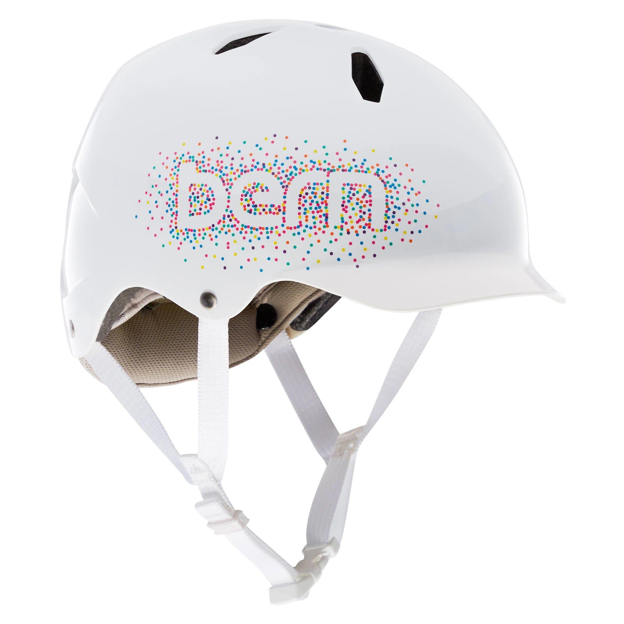 Bern - Summer Bandito EPS Helmet, Gloss White Confetti, M/L