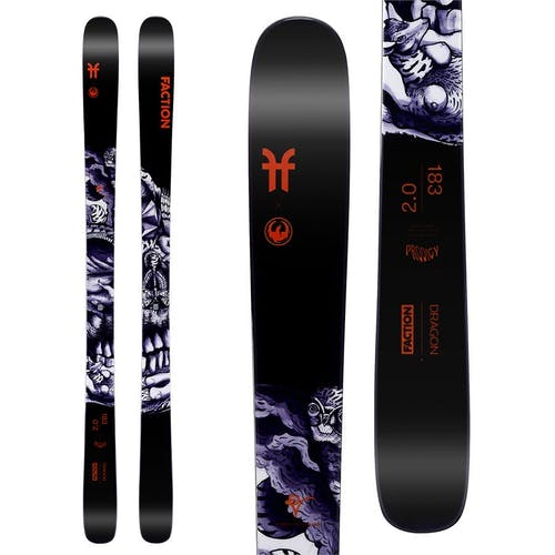 Faction Ski Prodigy 2.0 Collab Skis · 2020