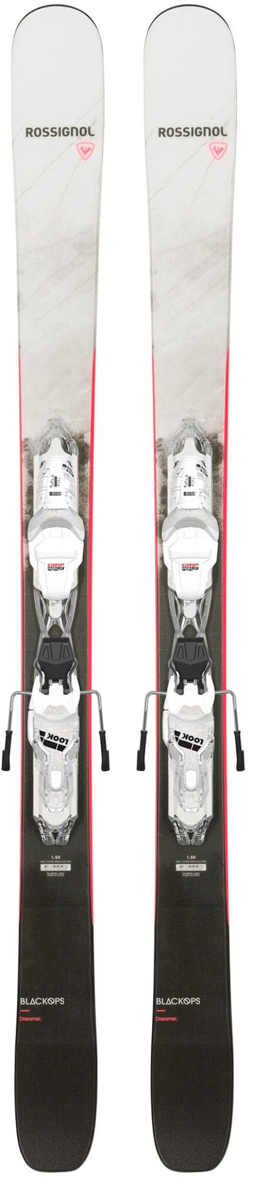 Rossignol Black Ops Dreamer Skis with Xpress Women's 10 Gw Bindings