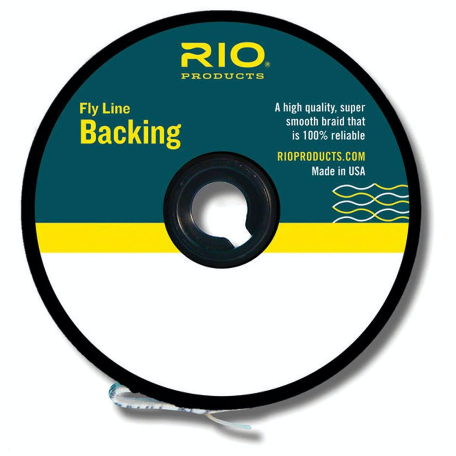 Rio Dacron Fly Line Backing 20 lb.; Orange