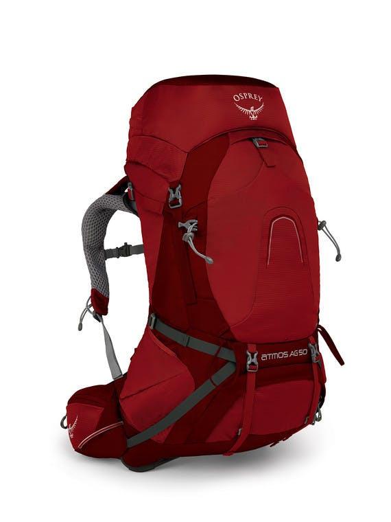 OSPREY - ATMOS AG 50 PACK - MEDIUM - Rigby Red