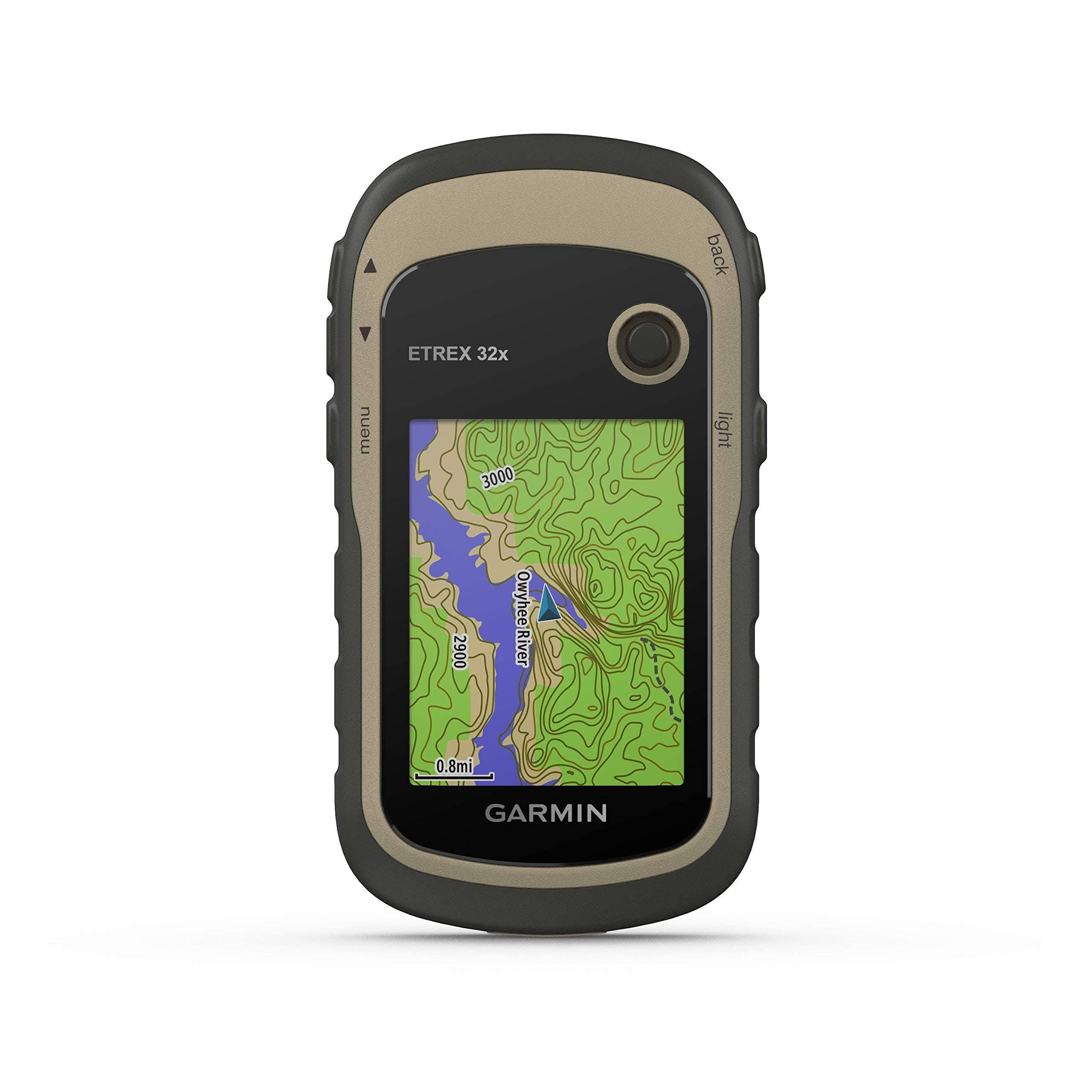 """Garmin eTrex 32x Hiking GPS Navigator - 2.2"""" Display"""