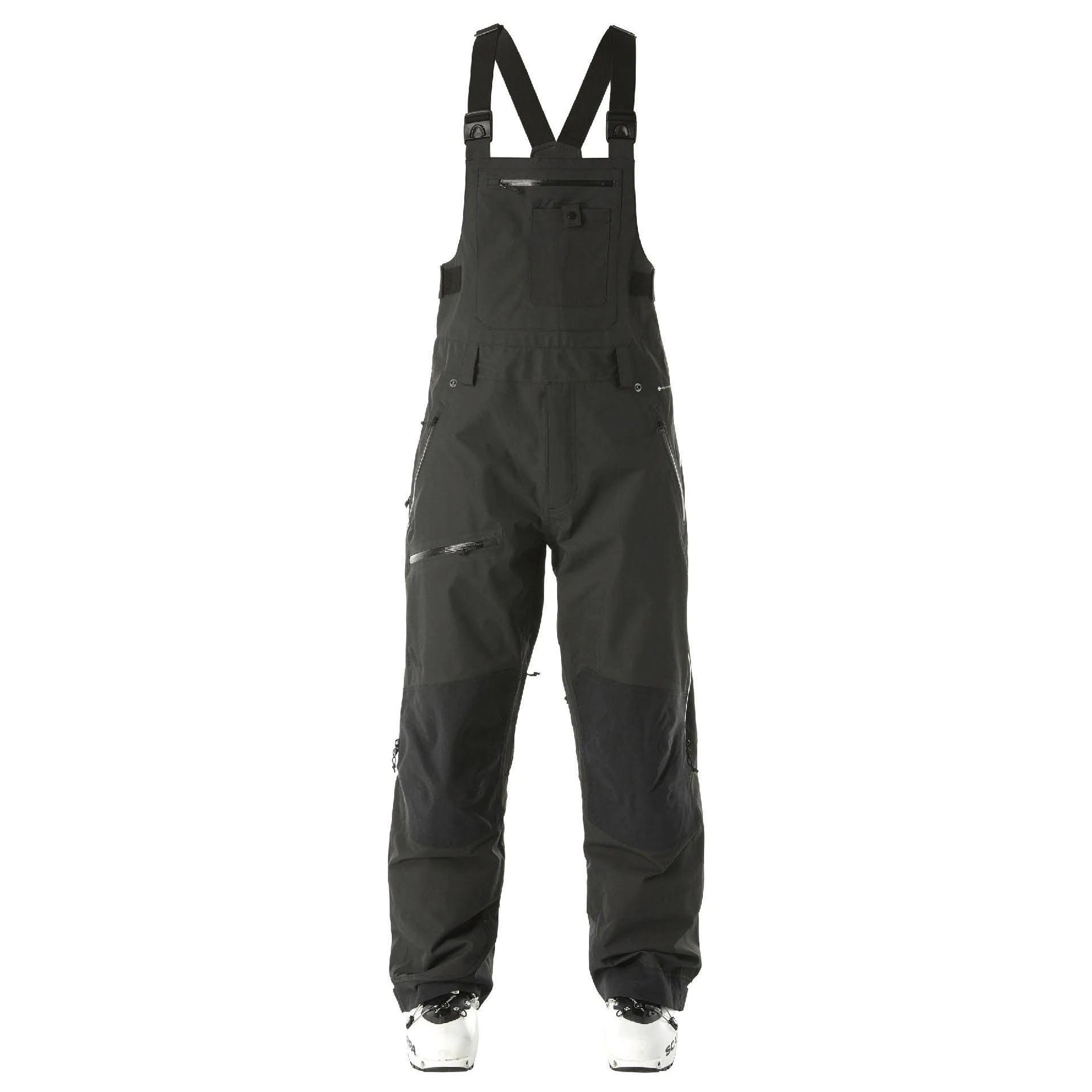 Flylow Baker Bib Men's Black Pants