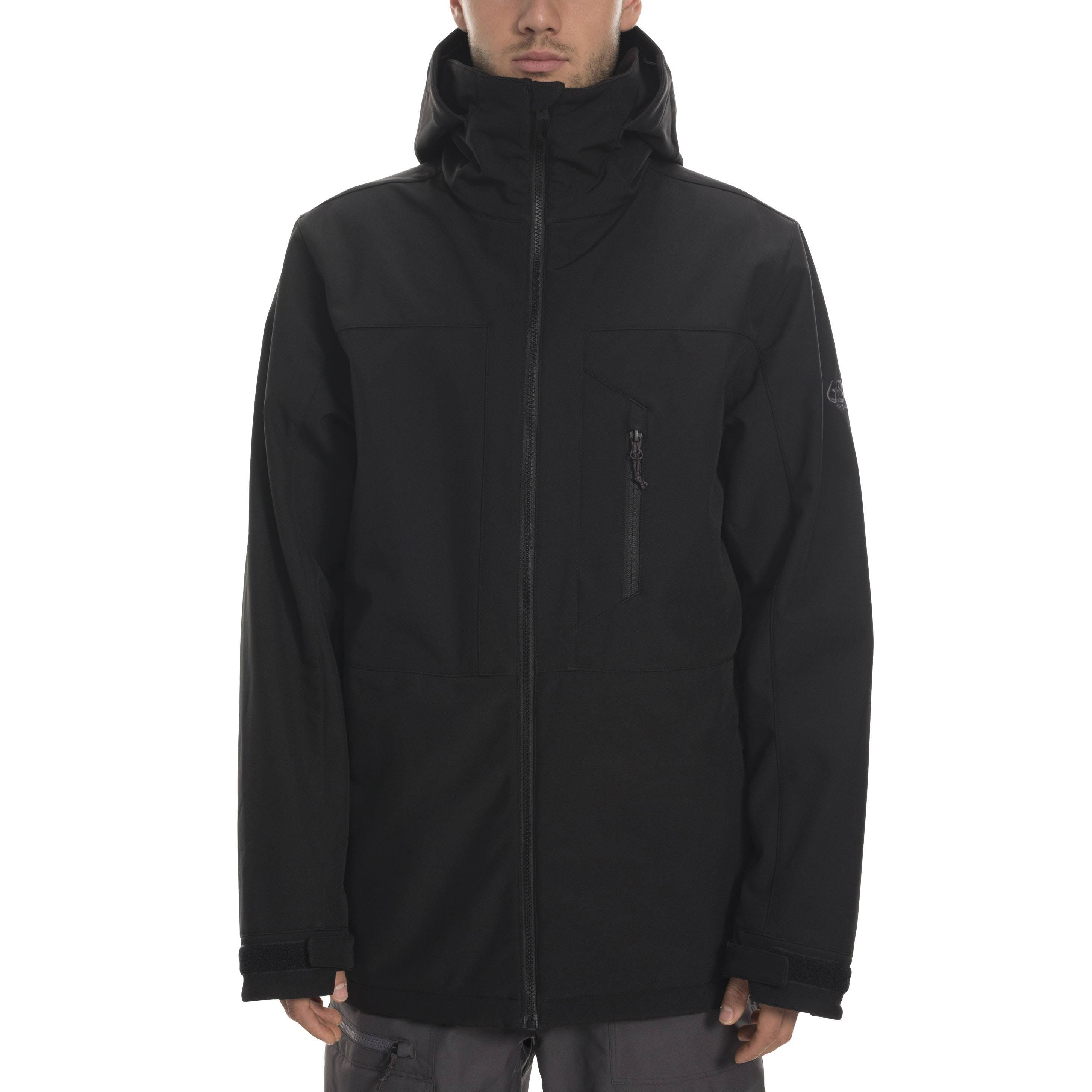 686 Smarty Phase 3 In 1 Softshell Snow Jacket Black