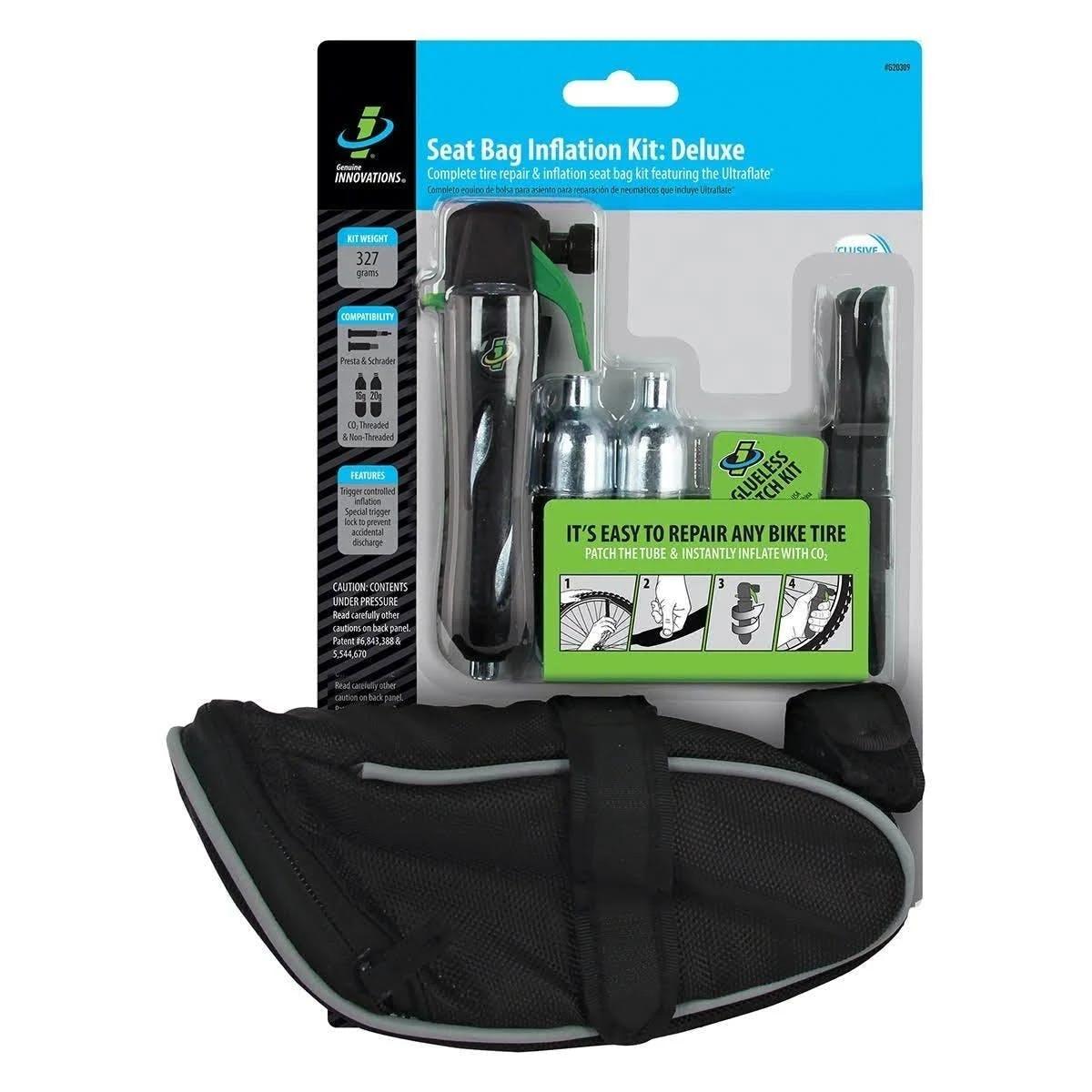 Genuine Innovations Deluxe Seat Bag Repair & Inflation Kit