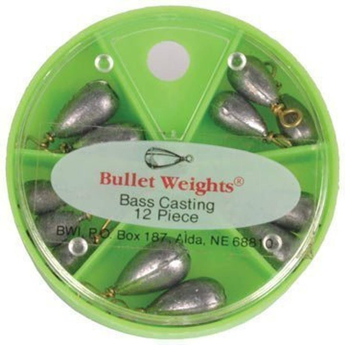 Bullet Weights Inc. | Weight Assortment Bass Casting 12ct