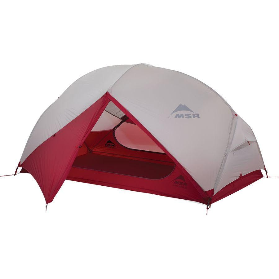 MSR Hubba NX 2 Tent V8 Backpack in Red, Nylon