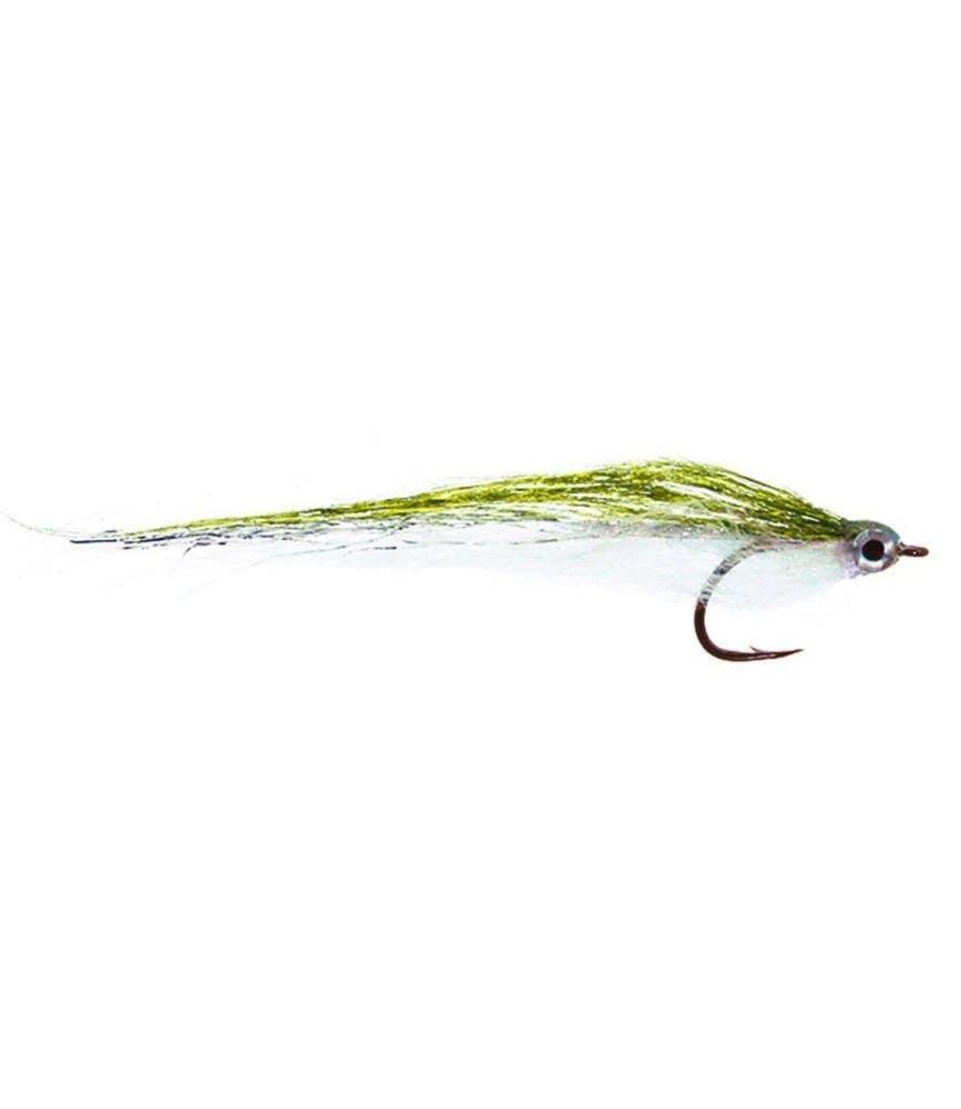 Umpqua Mushmouth Fly CHARTREUSE/WHT 2/0