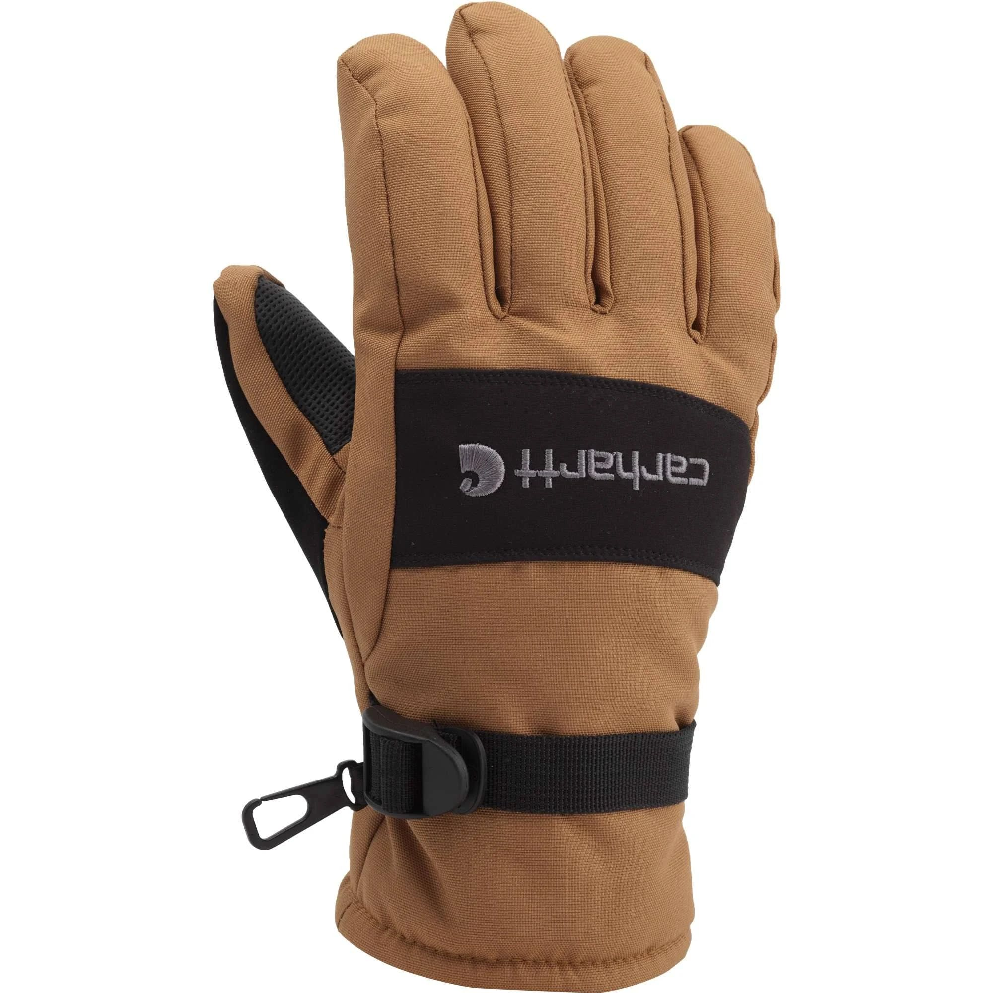 Carhartt Carhartt Men's Wp Waterproof Insulated Glove Brown/black Small
