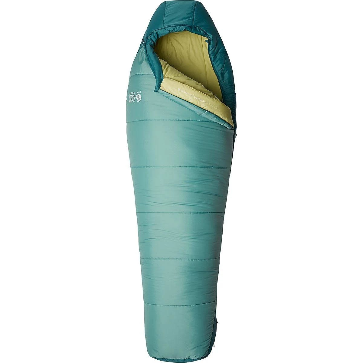 Mountain Hardwear Women's Bozeman 15F/-9C Sleeping Bag - Long / Right Zip / Light Icelandic