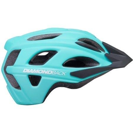 Diamondback Trace Adult Bike Helmet Large 58-61cm - Blue
