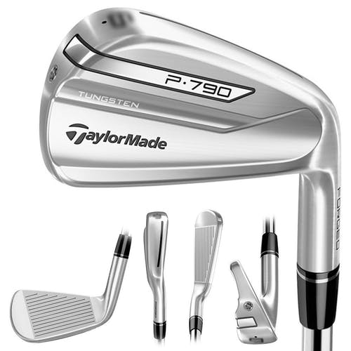 TaylorMade P790 Iron Set 2018 Right 5-PW, AW UST Recoil 760 ES F3 Graphite Regular